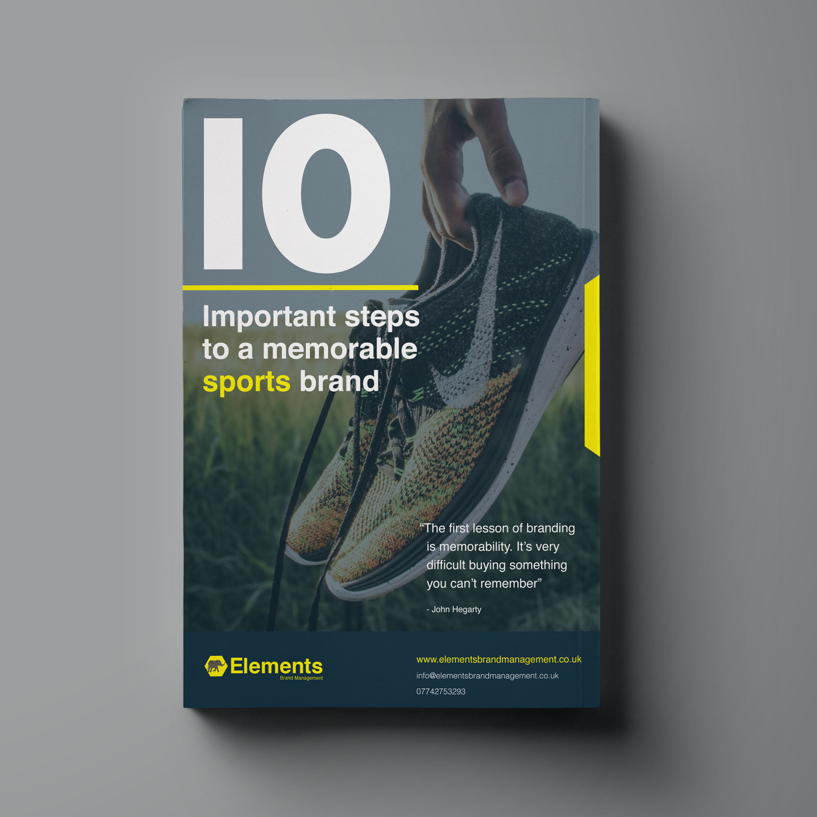 10 Important steps to an engaging and memorable sports brand