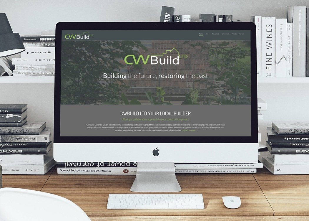 Building contractor web design elements brand management for Building design website
