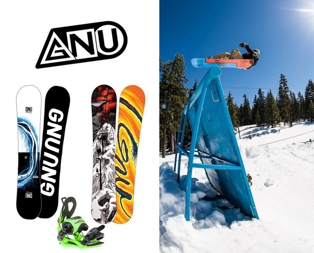 GNU Snowboard Brand