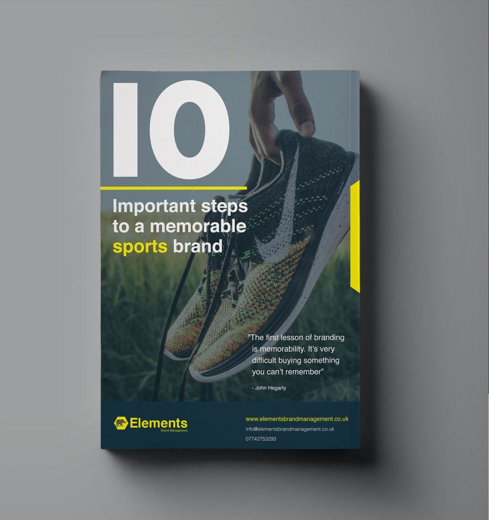 10 steps to a memorable sports brand