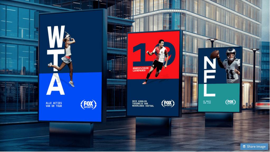 FOX Sports Holland Brand Usage