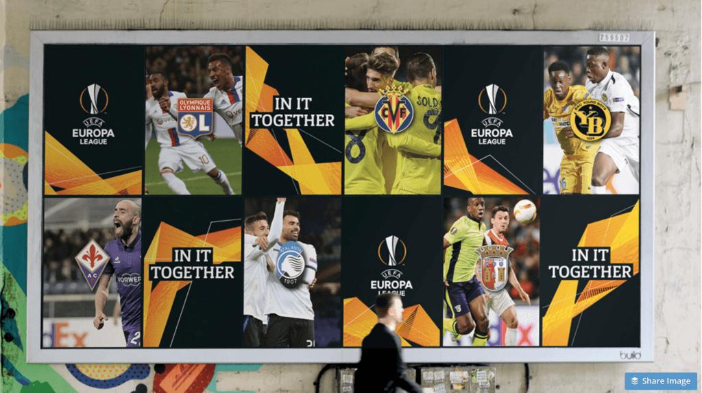 UEFA Europa League Branding Usage