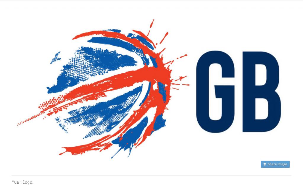 GB Basketball Logo Design