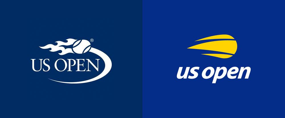 US Open - Rebrand