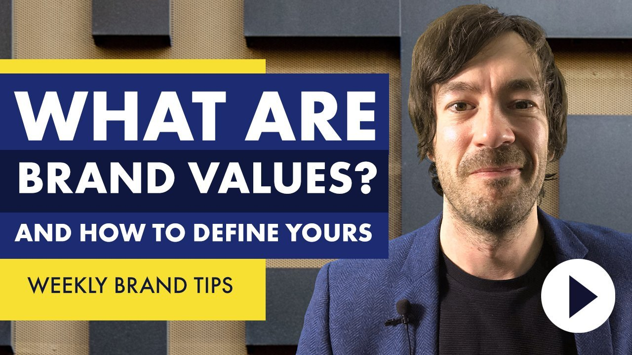 What are brand values and how can you define yours
