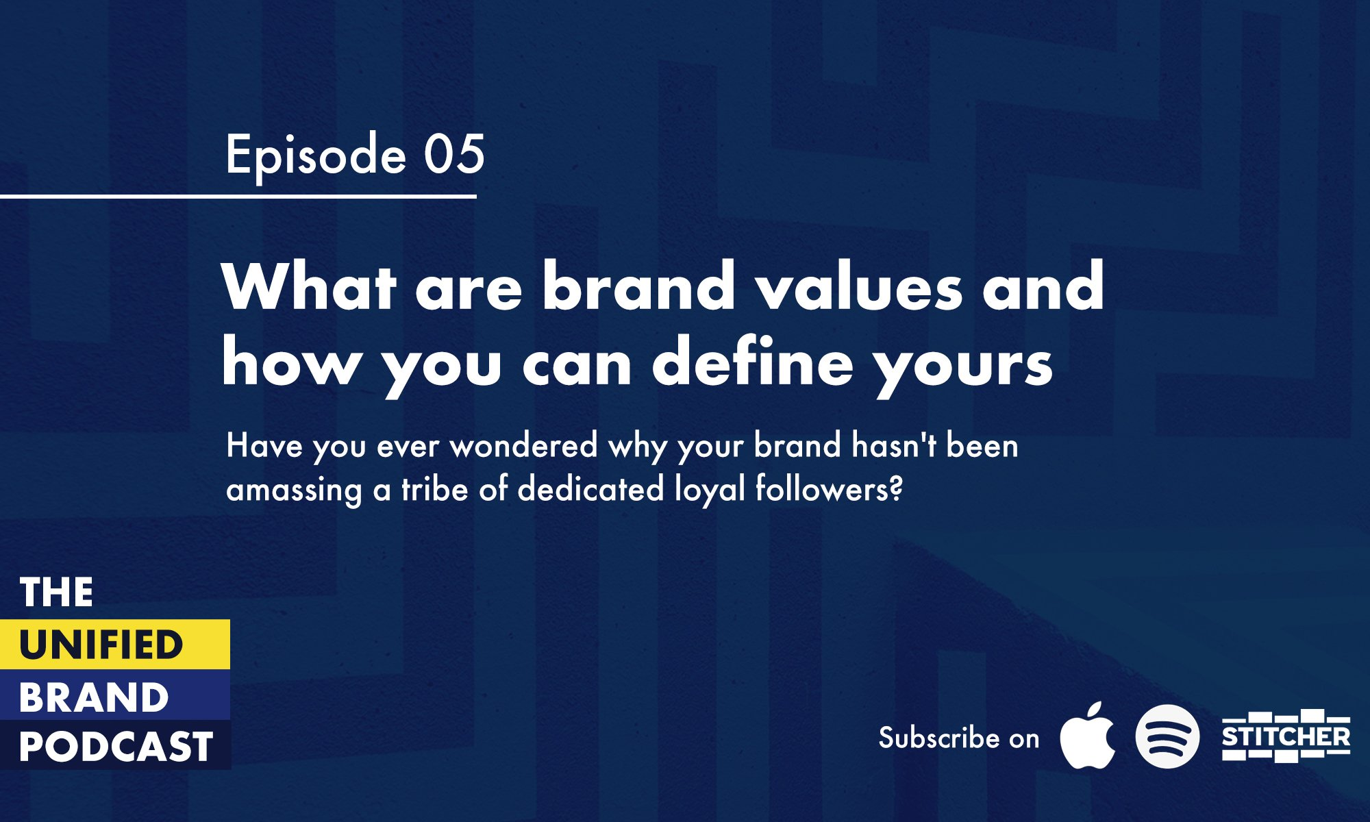 What are brand values and how you can define yours