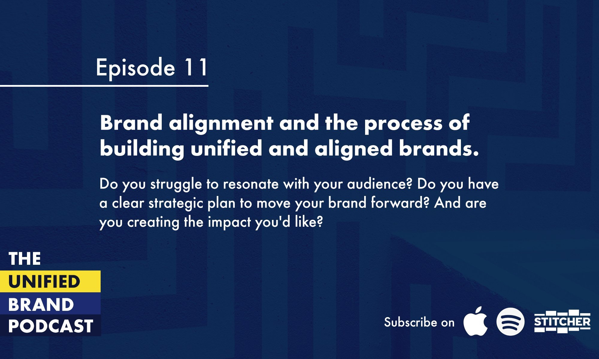 Brand alignment and the process of building unified and aligned brands