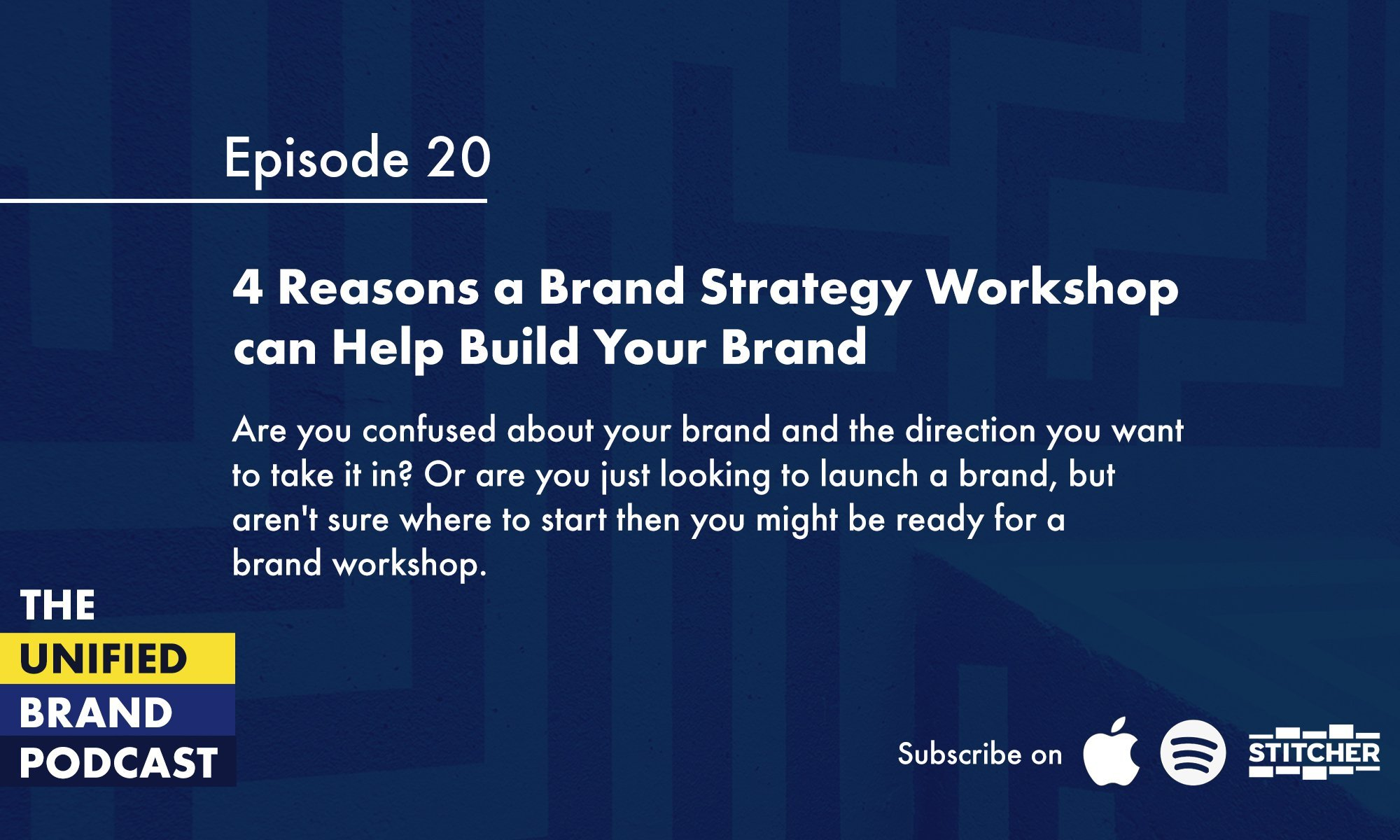 4 reasons brand workshop can help build your brand