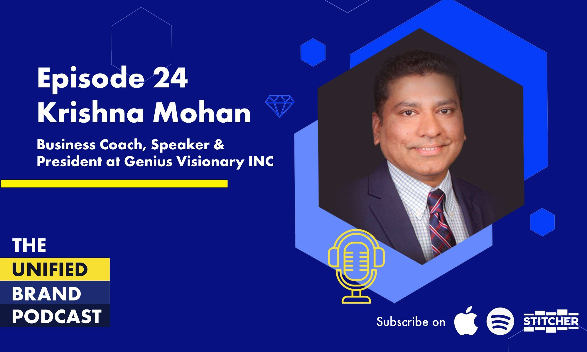 Business Strategy, Funding and Growth With Krishna Mohan, President of Genius Visionary Inc