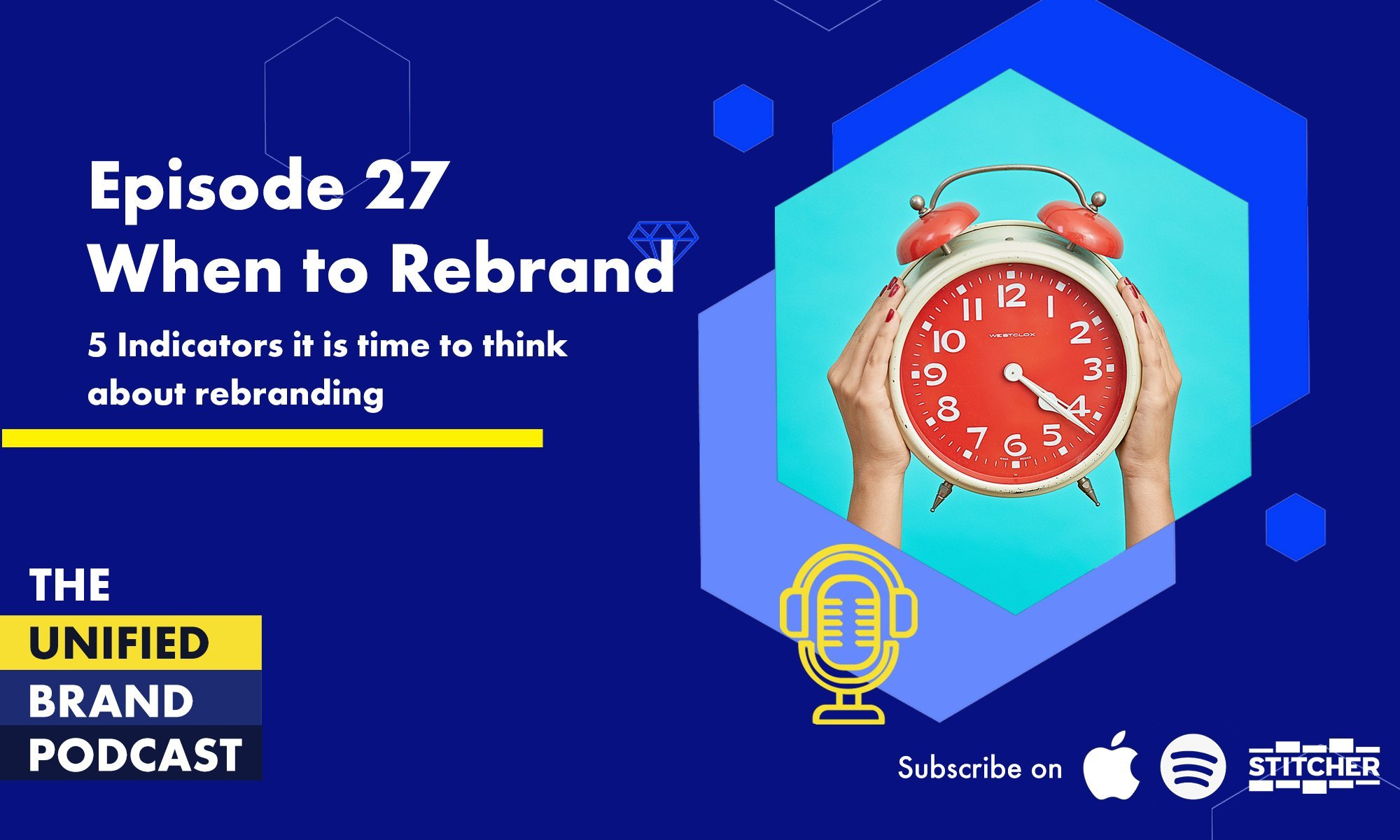5 Indicators that it is time to think about rebranding your business